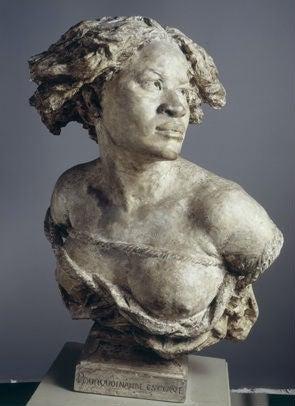 Jean-Baptiste Carpeaux, Pourquoi naître esclave, 1868.Patinated plaster. Paris, Musée du Petit Palais.