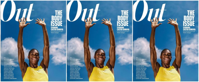 Illustration for article titled Amid the Ongoing Battle Over Her Body, Caster Semenya Covers Out Magazine's Body Issue