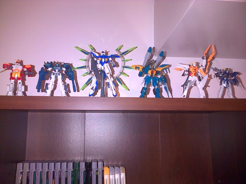 """Illustration for article titled Official TAY """"Show Off Your Gundam Collection"""" Thread"""