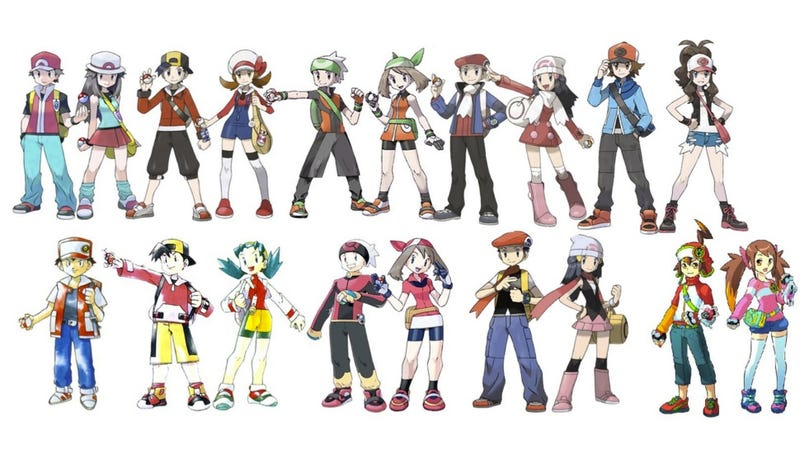Illustration for article titled Which Ones Are Not Real Pokémon Trainers?
