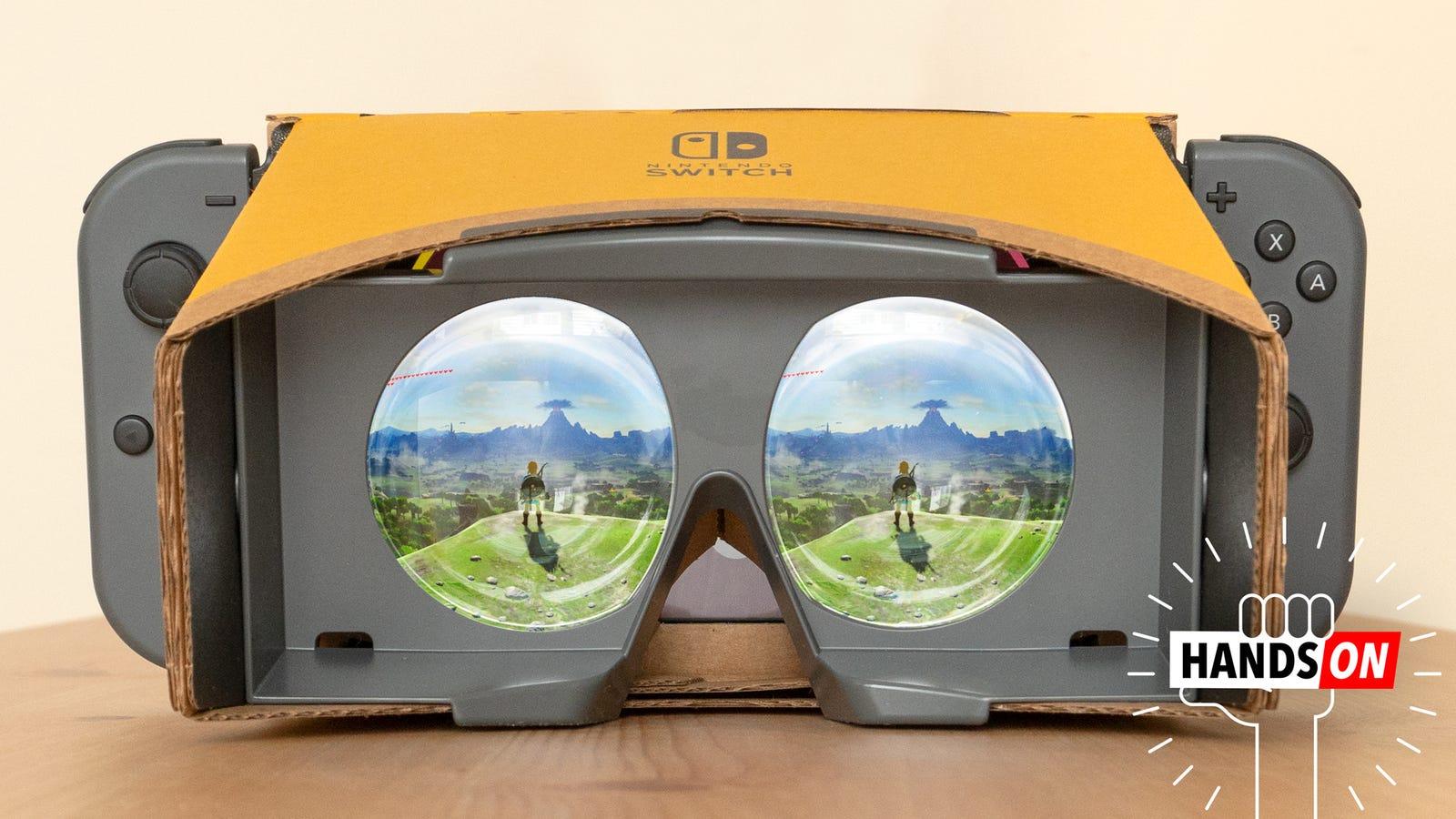 Nintendo's VR Upgrade for Zelda Messed Me Up