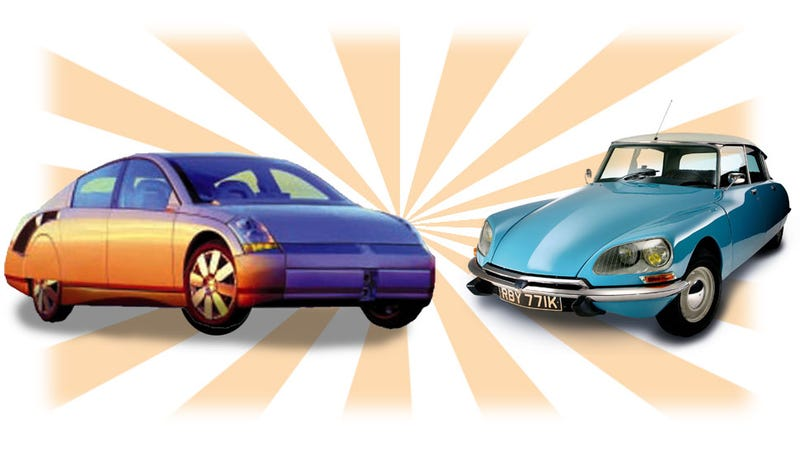 Illustration for article titled GM Built A Modern Hybrid Citroën DS That Was Years Ahead Of Its Time