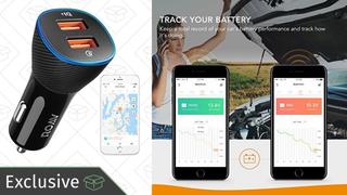 Cargador inteligente Roav de Anker para el coche | $16 | Amazon | Código promocional KINJAF1C