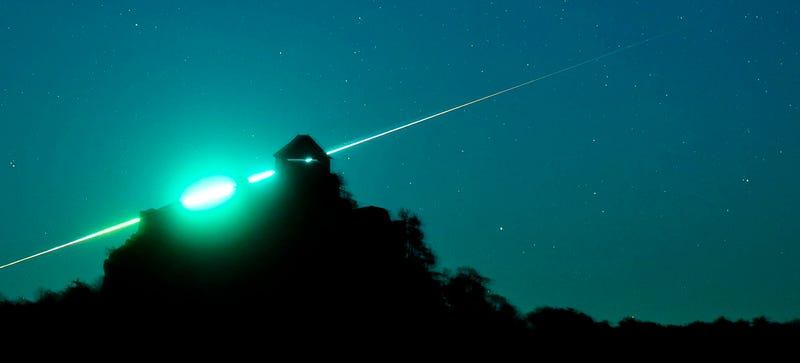 Illustration for article titled Photographer Caught Stunning Meteor Instead of Spooky Asteroid
