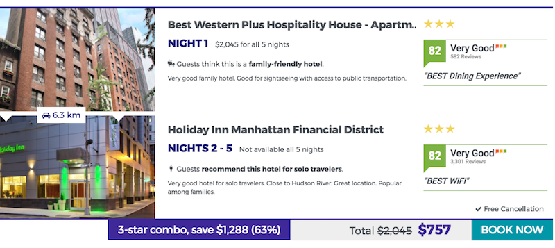 Illustration for article titled Nightly Combines Your Hotel Bookings to Save Money on Lodging