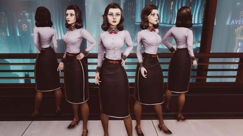 Illustration for article titled Elizabeth Looks Way Different in BioShock Infinite's Rapture DLC