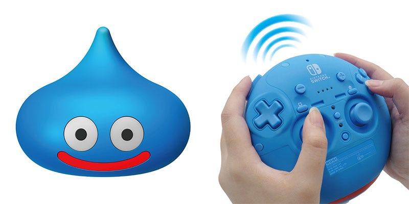 Illustration for article titled Look At This Dragon Quest Slime Controller For The Switch