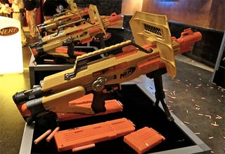 Illustration for article titled So This Is What Nerf Guns Are Like Now, Huh?