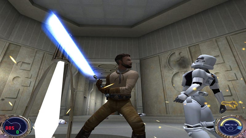 Illustration for article titled Why It Matters That Star Wars Jedi Knight Is Coming To Switch