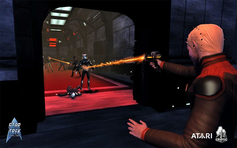 Illustration for article titled Star Trek Online Opens Closed Beta Hailing Frequencies