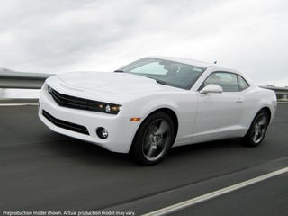 """Illustration for article titled Hybrid Camaro? """"Muscle Car Wars"""" Going Green?"""