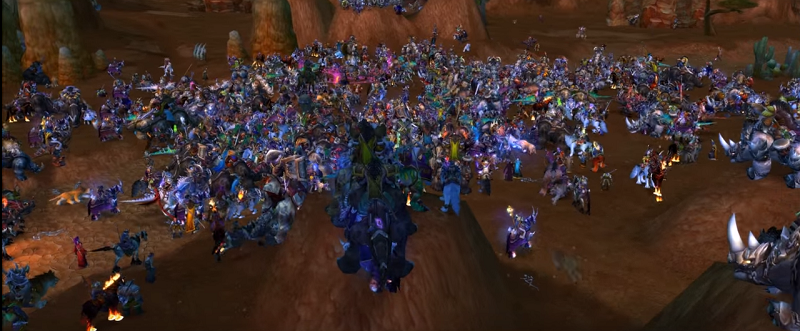 The Last Minutes Of World of Warcraft's Shuttered Fan Server
