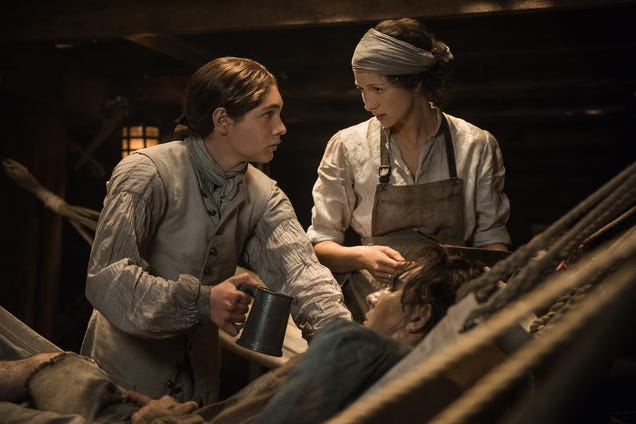 Outlander uses a magical goat lady to solve its problems