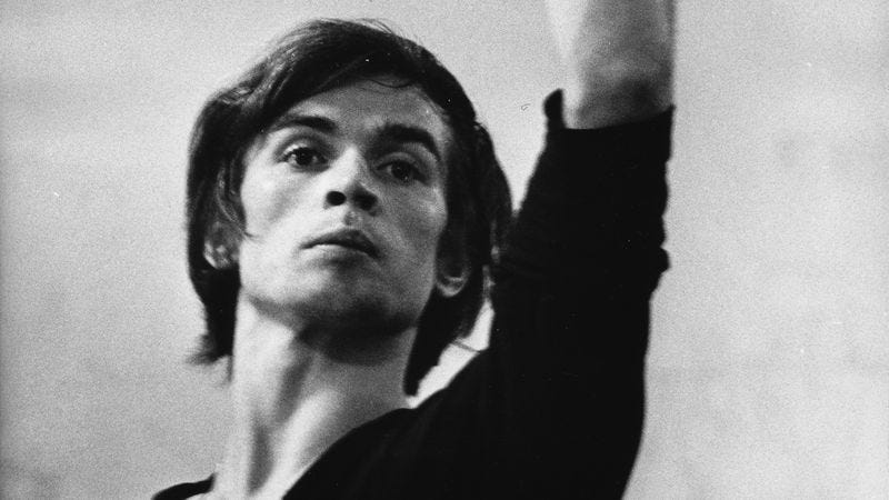 Nureyev at The American Ballet Theatre School, 1962 (Image by: Getty Images)