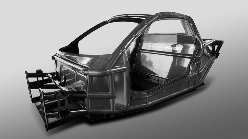 Illustration for article titled TVR Plans On Full Carbon Construction