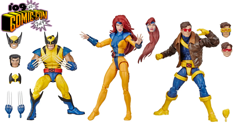 These X-Men Legends Figures Look Like They Stepped Right Out of the '90s TV Show