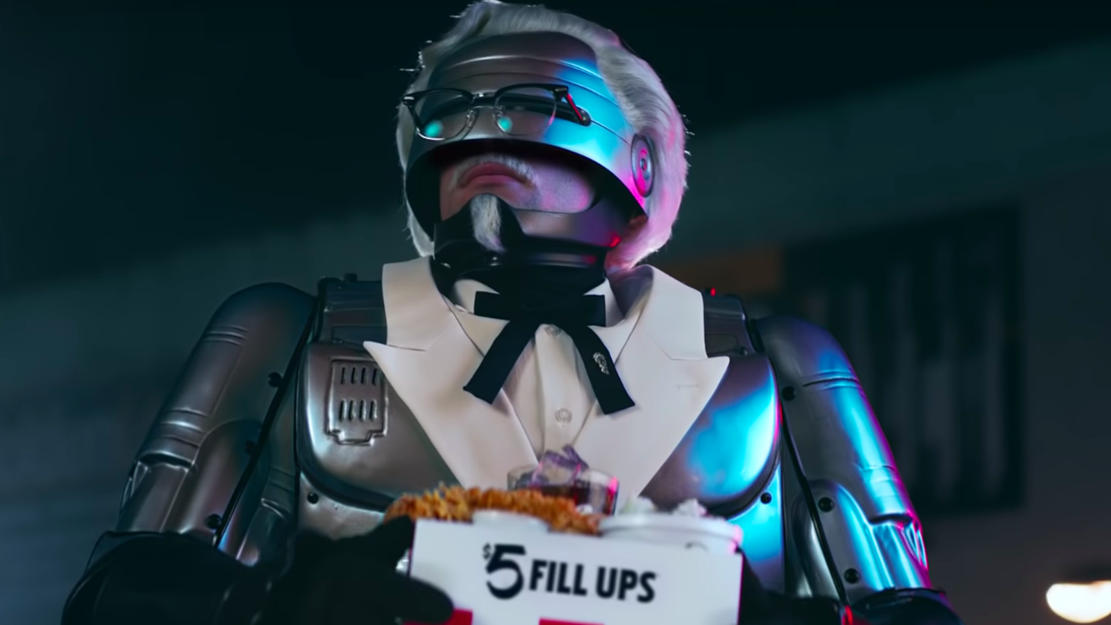 Attention, citizens: RoboCop is KFC's new Colonel