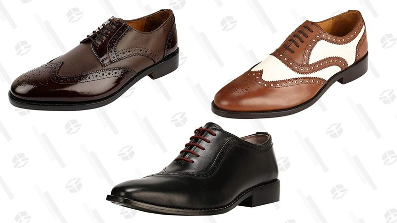 Shop 25% Off Select Men's Leather Shoes, Today Only
