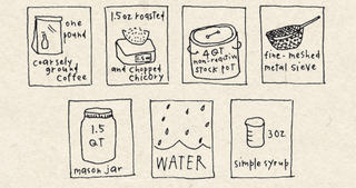 Illustration for article titled Make New-Orleans-Style Iced Coffee Overnight