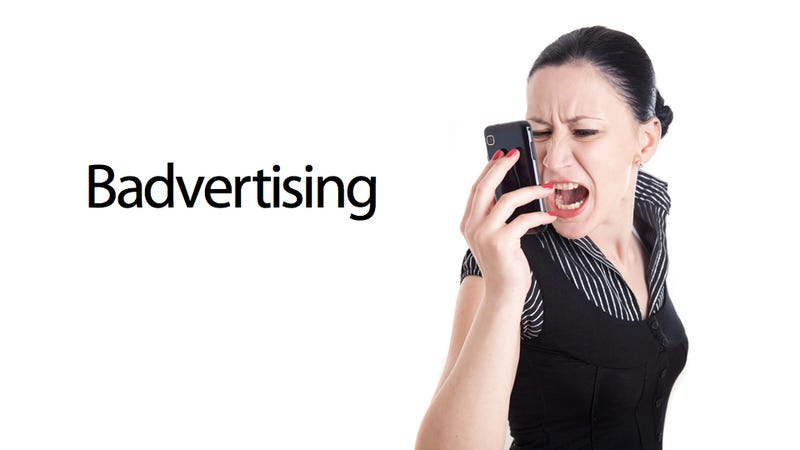 Illustration for article titled I'm Going to Rip My Ears Off Because of These New Annoying Smartphone Ads