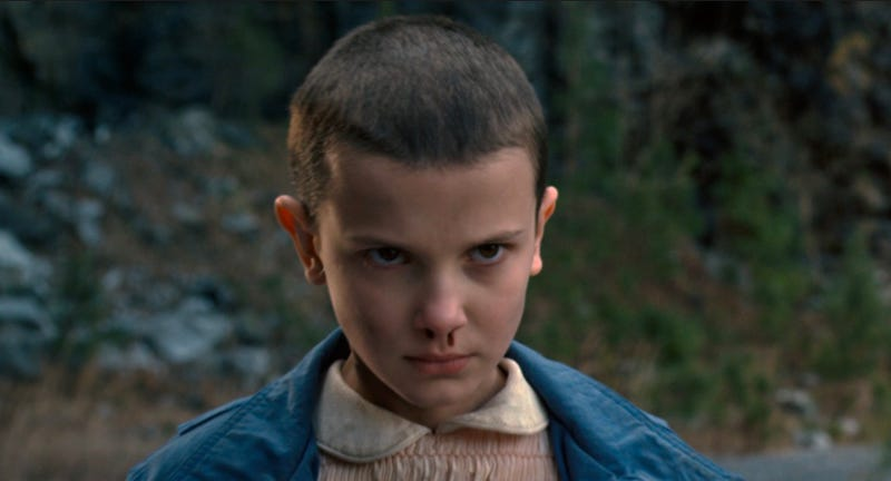 Millie Bobby Brown could have been in Logan. Image: ixNetfl