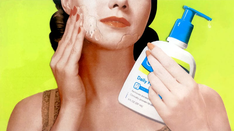 Illustration for article titled Hey Have You Ever Noticed That Cetaphil Looks and Feels Exactly Like Cum?