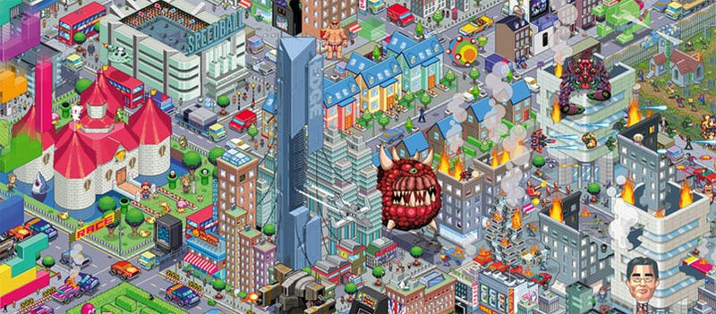 Illustration for article titled The Mean Streets Of Video Game City