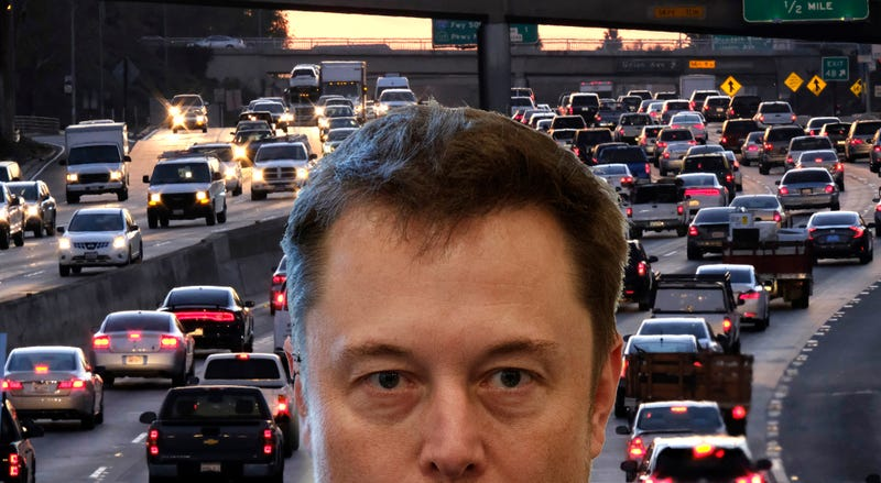 Illustration for article titled Elon Musk Drills Down On Los Angeles Tunnel Plans
