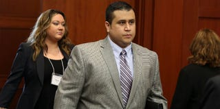 George Zimmerman at the fifth day of jury selection for his trial (pool/Getty Images)