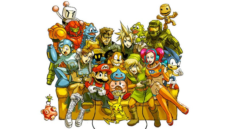 Illustration for article titled Super Smash Bros. (and Everyone Else) Brawl