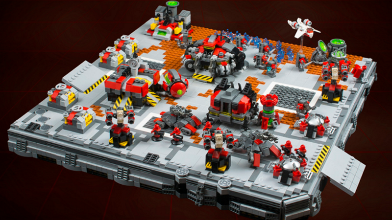 LEGO StarCraft Terran Base Is Ready To Expand