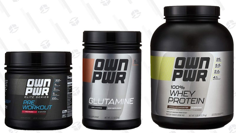 15% off Own Pwr Fitness Supplements | Amazon