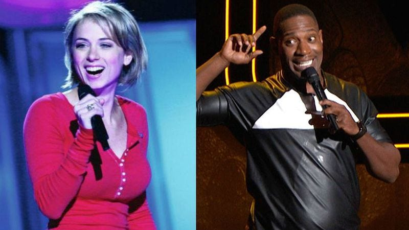 Iliza Shlesinger and Rod Man on Last Comic Standing