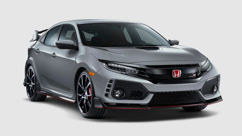 Illustration for article titled The Civic Type R now comes in Sonic Grey and has a volume knob