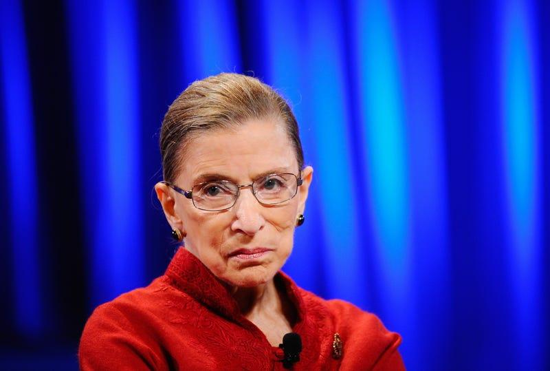 Justice Ruth Bader Ginsburg in 2010Kevork Djansezian/Getty Images