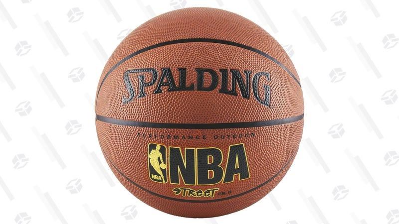 Spalding NBA Street Basketball | $11 | Amazon