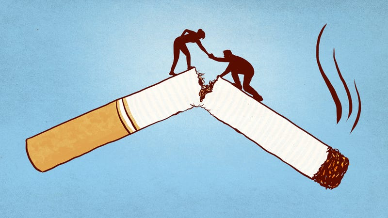 Illustration for article titled How to Support Someone When They Decide to Quit Smoking