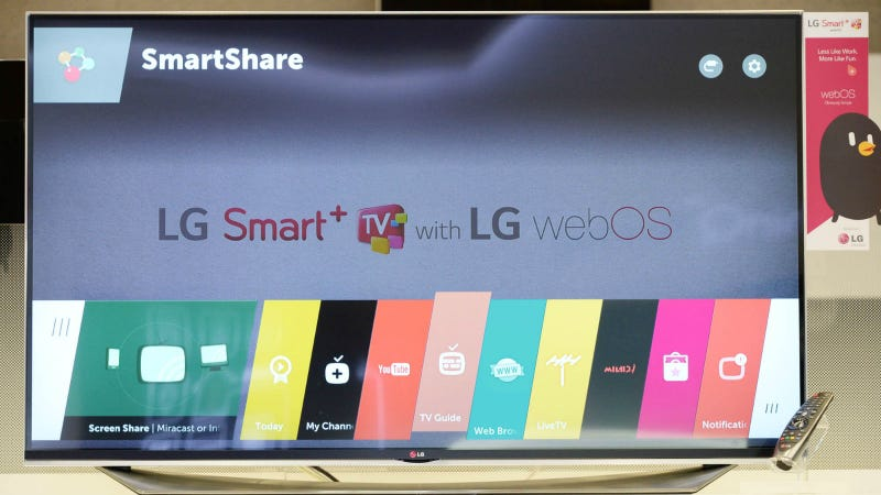 Illustration for article titled LG's New WebOS 2.0 Ribbon Navigator Might Actually Be Usable