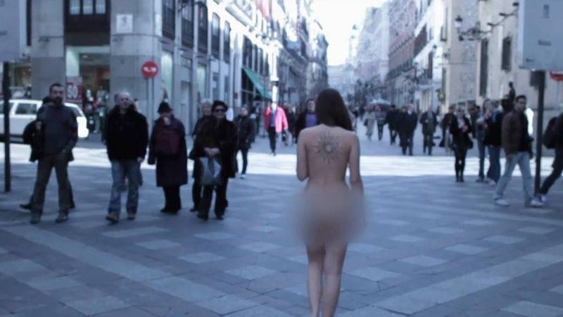 Alanis Morissette's butt