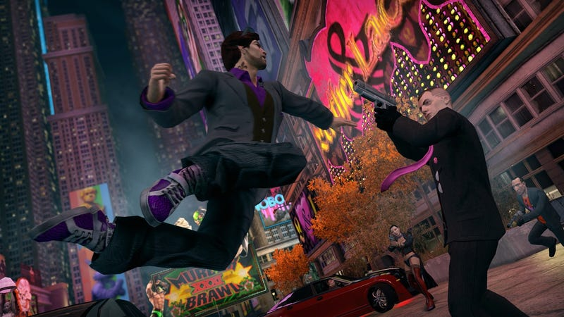 Illustration for article titled The Visceral Impact of Kanye West on Saints Row: The Third