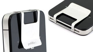 Illustration for article titled Finally: A Slim and Simple iPhone Money Clip