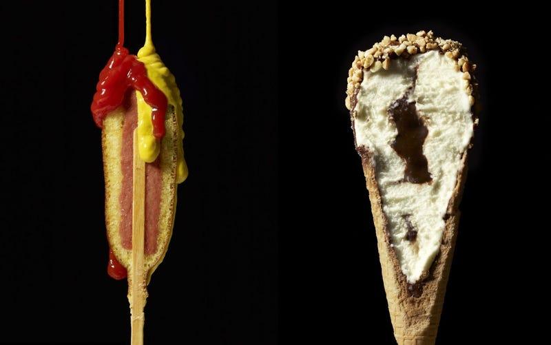 Illustration for article titled Egy kis ragasztóval az ételek belsejét is pofásra lehet varázsolni