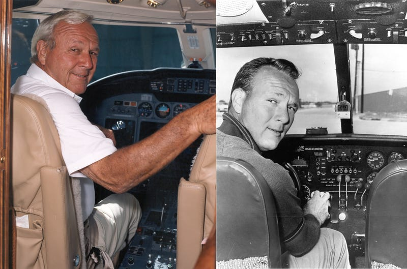 Illustration for article titled Arnold Palmer Was an Ambassador for Aviation