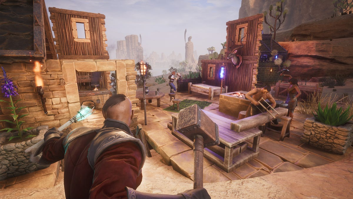 Conan Exiles Struggles With Unmoderated Griefing, Racism