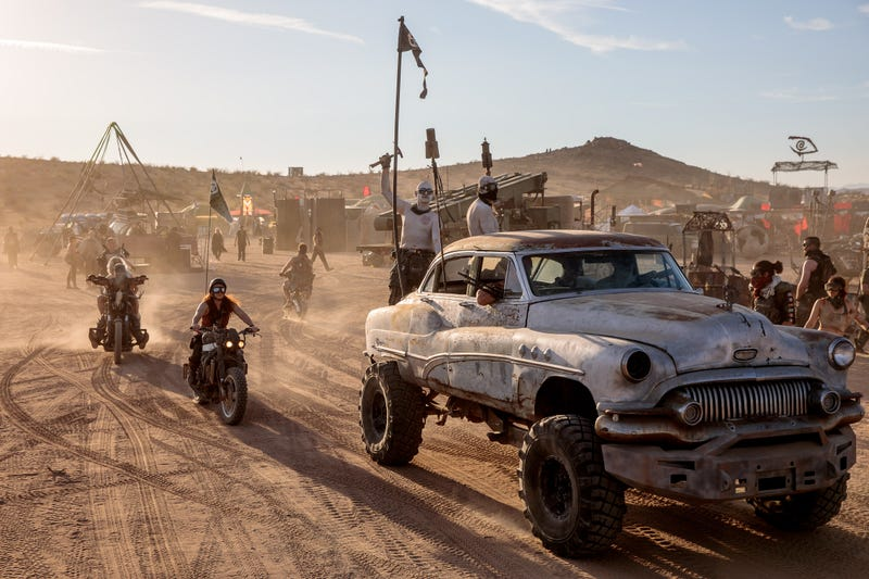 The Strangest Desert Festival In The World Makes Everyone S Mad Max