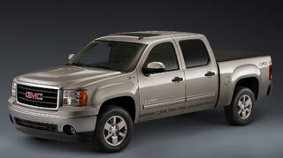 Illustration for article titled 2009 GMC Sierra Hybrid Revealed Ahead of Chicago Auto Show