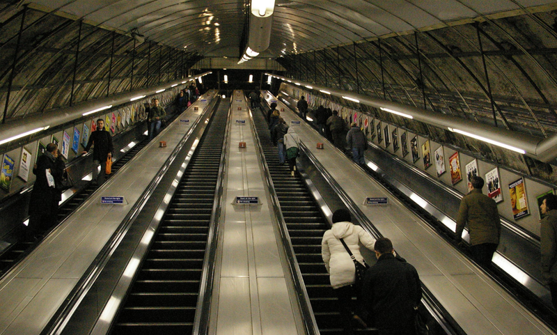 people on escalators. it\u0027s the golden rule of crowded escalators: stand on one side, walk other. but passengers taking escalator in london\u0027s busiest tube people escalators