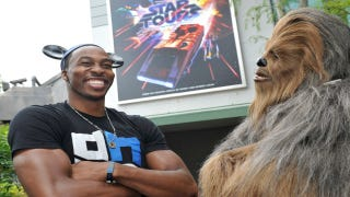 Illustration for article titled Dwight Howard: What A Wookiee
