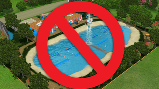 Illustration for article titled The Sims 4 Is Ditching Pools And Some People Aren't Happy