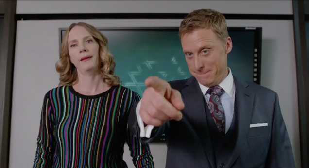 nbc s powerless breaks the canon with a stupid wayne cousin
